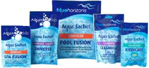 The Aqua Sachet Pool/SPA Chemical Range